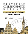 Le Festival de la correspondance de Grignan battra pavillon belge