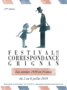 Le Festival de la correspondance de Grignan : une plongée dans les années '50