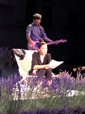 Olivia Ruiz en Françoise Sagan: un moment fort du Festival de Grignan