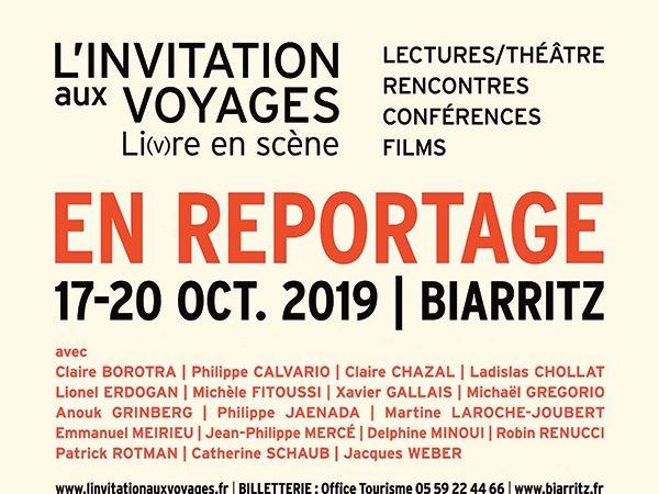 L'invitation aux voyages - cinquième édition du Festival de Biarritz