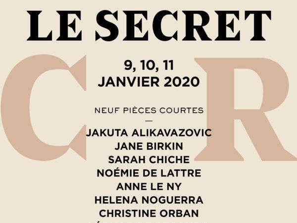 Paris des Femmes - Scènes d'auteurEs - 2020