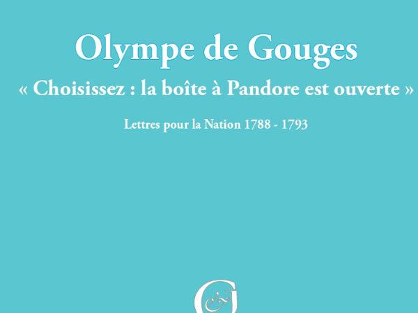 La boîte à Pandore d'Olympe de Gouges