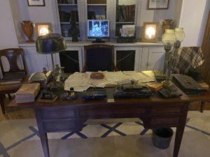 Visite du Clos Lupin à Etretat